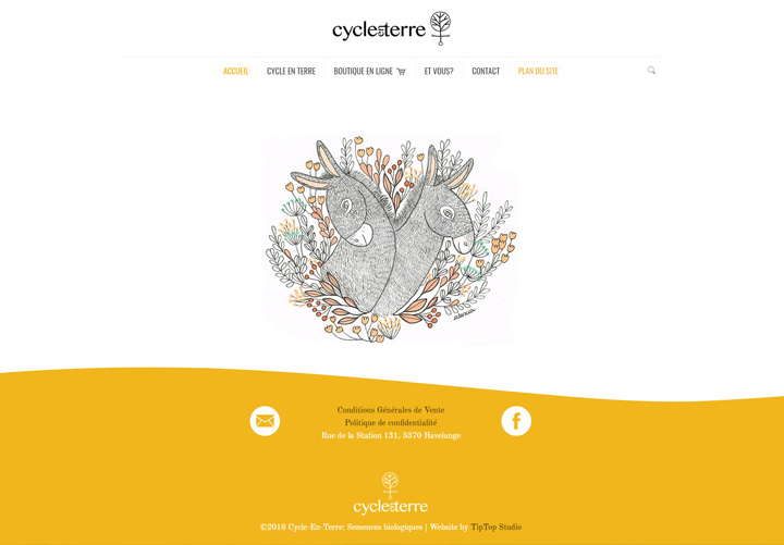 actus site cycle en terre screenshot