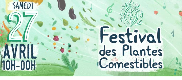 Cycle en Terre sera au Festival des Plantes comestibles